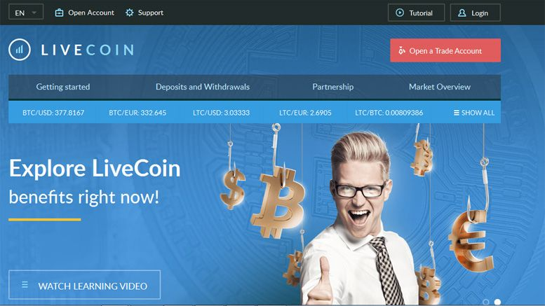 LiveCoin.net Cryptocurrency Exchange Reduces Fees, Adds New Trading Pairs