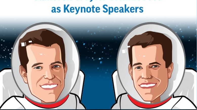 Cameron And Tyler Winklevoss Are The Keynote Speakers For (Bit)coinWorld At Money2020