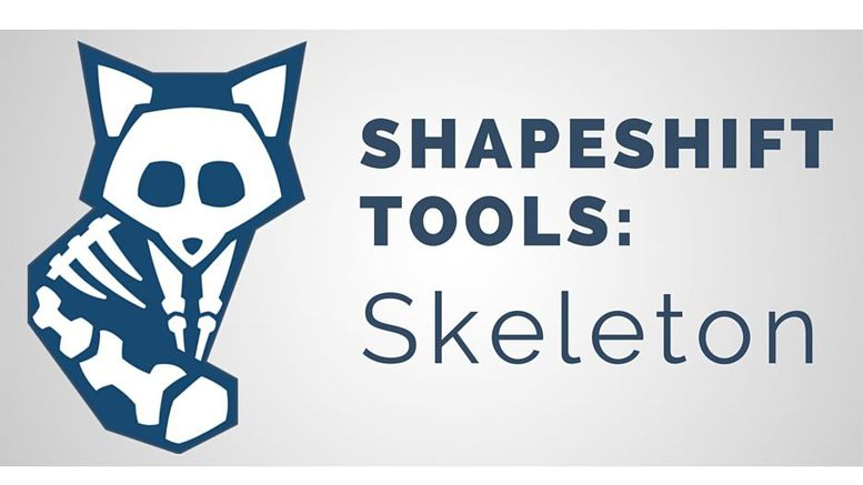 ShapeShift.io Releases Skeleton Exchange Tool for In-site Cryptocurrency Exchanges