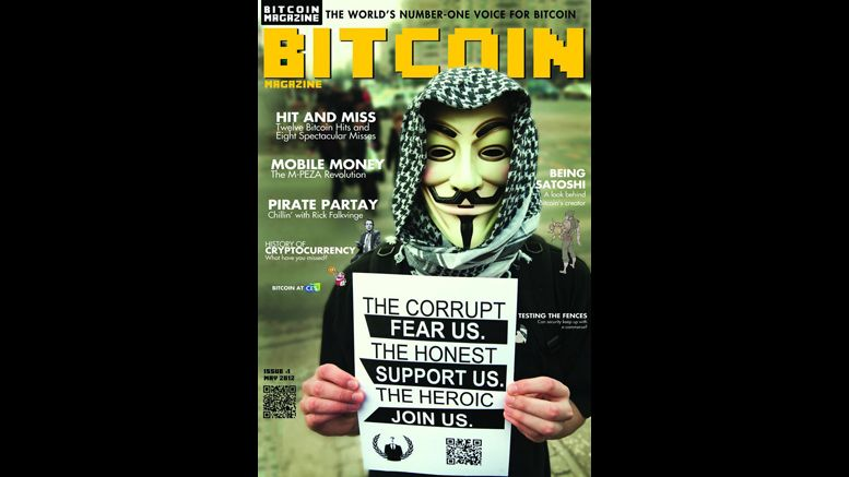 The First Issue of Bitcoin Magazine Goes To Print