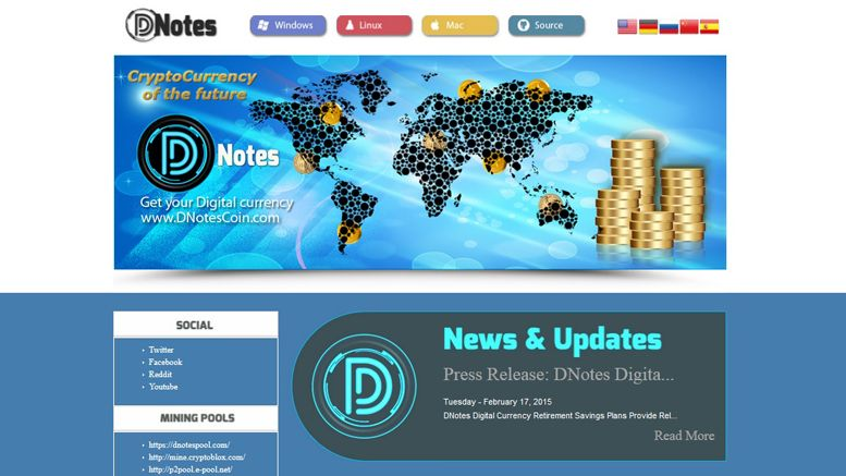 Cryptocurrency DNotes' Block Reward To Reduce By 90% As Co-founder Alan Yong Reveals His Vision