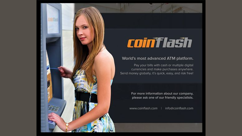 Coinflash to Live Demo New Bitcoin ATM at the North American Bitcoin Conference