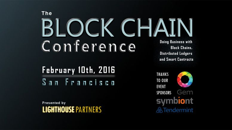 IBM to Keynote The Block Chain Conference