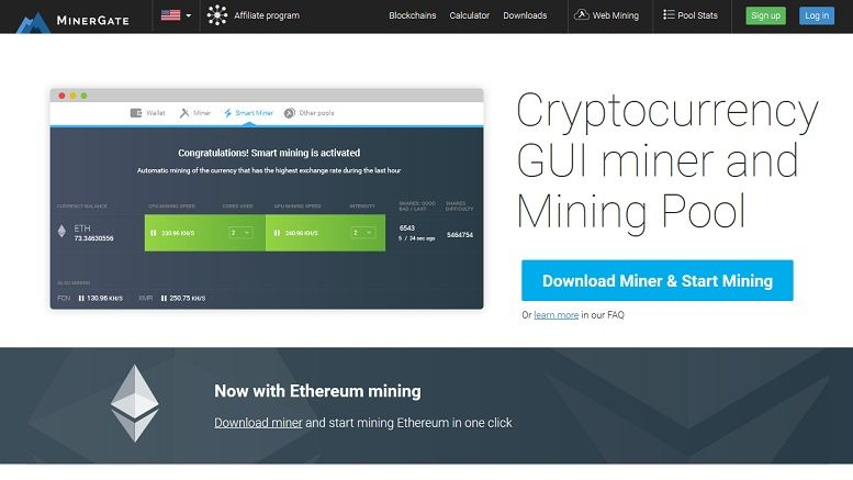 MinerGate Announces First One-Click Ethereum Miner - CoinAlert