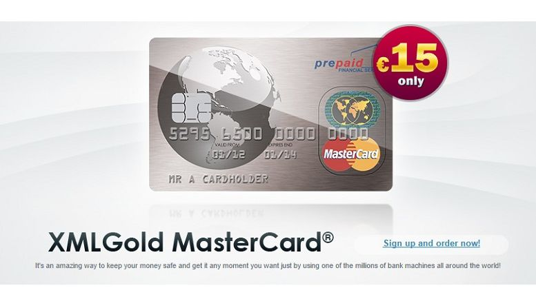 XMLGold's Debit Cards Can Be Charged With Perfect Money