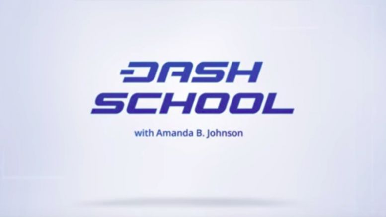 'DASH School' Explains Blockchain Like You're Five