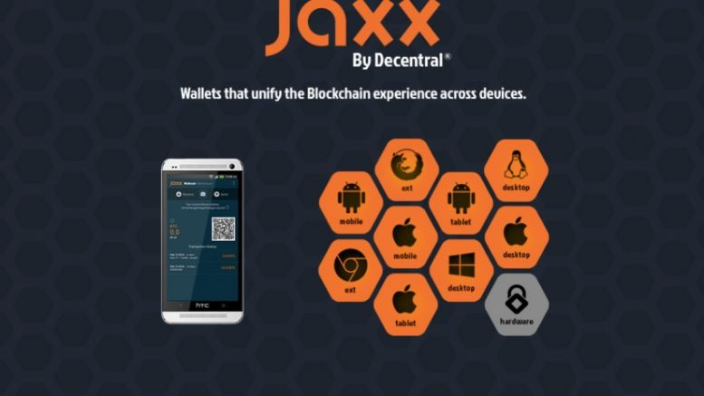 Jaxx Blockchain Wallet Now Supports LiteCoin and Ethereum Classic
