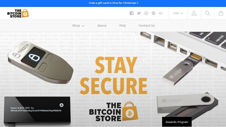 The Bitcoin Store Launches