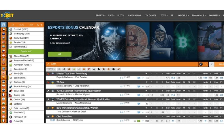 1xBit Launches Revamped Bitcoin Sports Betting Platform