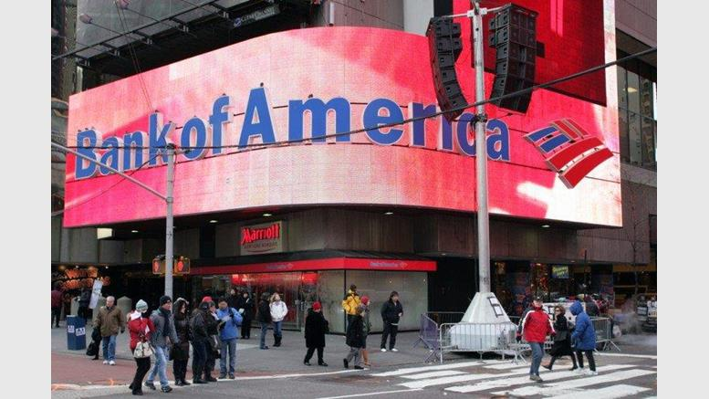 Bank of America Filed 10 New Cryptocurrency Patent Applications