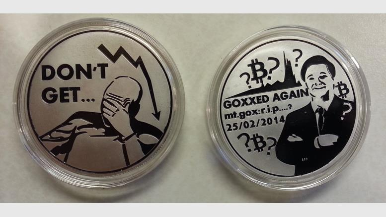 Goxxed For The Last Time, A Fall of MtGox (commiserative) Coin