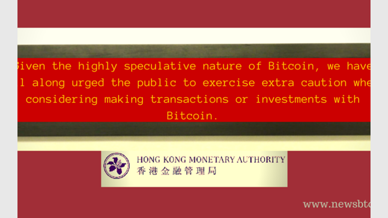 As Investors Bite Dust, Hong Kong Central Bank Releases Statement Against Bitcoin