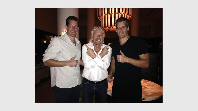 Winklevoss Twins Buy Virgin Galactic Tickets With Bitcoin