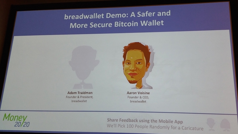 Breadwallet for iOS demoed live at Money 2020
