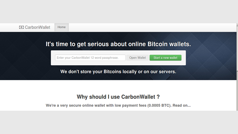 Introducing Carbon Wallet