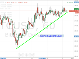 Bitcoin Price Technical Analysis for 22/2/2015 - Slowing Down