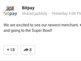 BitPay: Seattle Seahawks Accepting Bitcoin Post on Google Plus