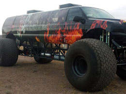 Things Bitcoin Can Buy: An Obscenely Large Monster Truck