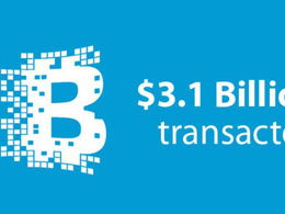 Over $3.1 Billion Has Been Transacted Via Blockchain Web Wallet