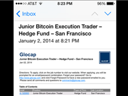 San Francisco-Based Hedge Fund Looking For Bitcoin Trader