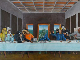 'Last Bitcoin Supper' Painting Sells For Nearly $3,000 on eBay