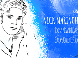 Nick Maninoff Joins NewsBTC as Europe Chief Editor