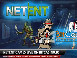 Bitcasino.io Expands Its Casino Games with NetEnt