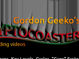 Exclusive Video: Gordon Geeko's Cryptocoaster #1 - Falling Fast! + Litecoin/Bitcoin Trading System