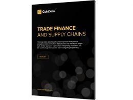 CoinDesk Releases 'Trade Finance and Supply Chains' Report