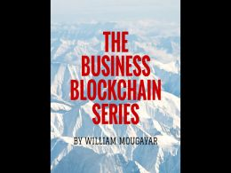 Business Blockchain Books Project Is Nearing Completion