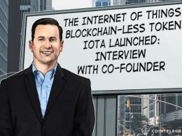 The Internet of Things, Blockchain-less Token IOTA Launched: Interview with Co-Founder