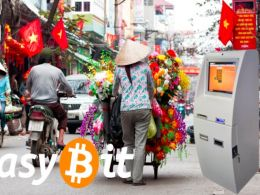 EasyBit expands Global Bitcoin ATM Network Footprint to Vietnam