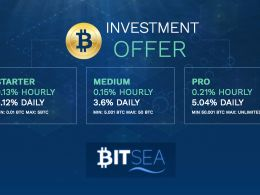 BitSea Offers Low Risk Bitcoin Investment Opportunities