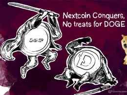 Nextcoin Conquers, No treats for DOGE