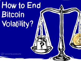 How to End Bitcoin Volatility?