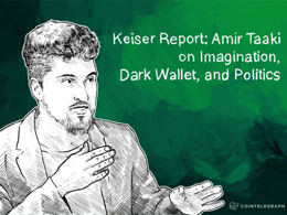 Keiser Report: Amir Taaki on Imagination, Dark Wallet, and Politics