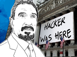 McAfee Says NYSE Outage May Have Been a Cyber Attack; Anonymous Brags