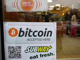 Bitcoin-accepting Subway sandwich shop discovered in the US