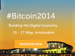 Bitcoin2014 Conference Gets Underway in Amsterdam Today