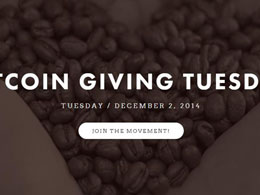 Bitcoin Giving Tuesday Takes Place Tomorrow