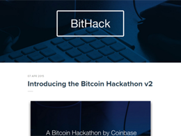 Coinbase Launches Developer Portal and a 6 Week Hackathon