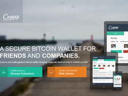 BitPay's Copay Open Source Multisig Wallet Launches in Beta