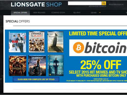 Lionsgate Starts Accepting Bitcoin