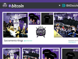 Sacramento Kings NBA Franchise Launches Bitcoin-Only Online Store