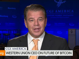 Western Union CEO Suggests His Company Could Adopt Bitcoin When It's Regulated