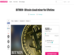 BITMIN Quarter of Way through Crowdfund Campaign, New Cloud Mining Company!