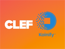 Koinify Integrates Clef For More Secure 2FA