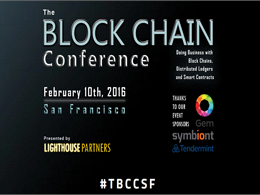 SF Block Chain Conference by Lighthouse Partners to Feature More than Just Bitcoin
