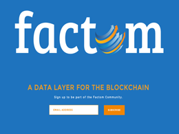 Factom: The Bitcoin 2.0 Tool Changing The Way Companies Keep Records