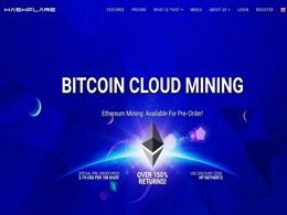 HashFlare Offers Top-Notch Cloud Mining Services